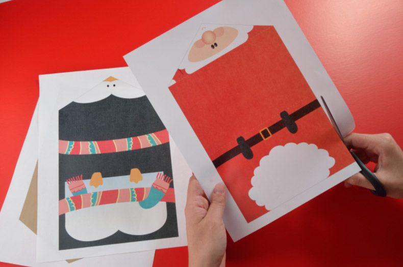 Tarjetas navideñas para imprimir gratis