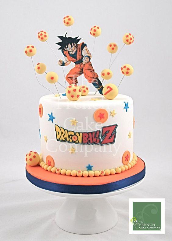 Las más lindas tortas de Dragon Ball