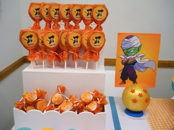 Ideas cumpleaños Dragon Ball