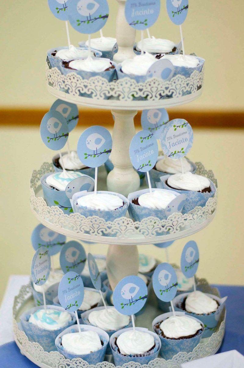Cupcakes pajaritos