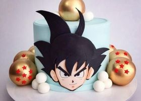 Torta de Dragon Ball