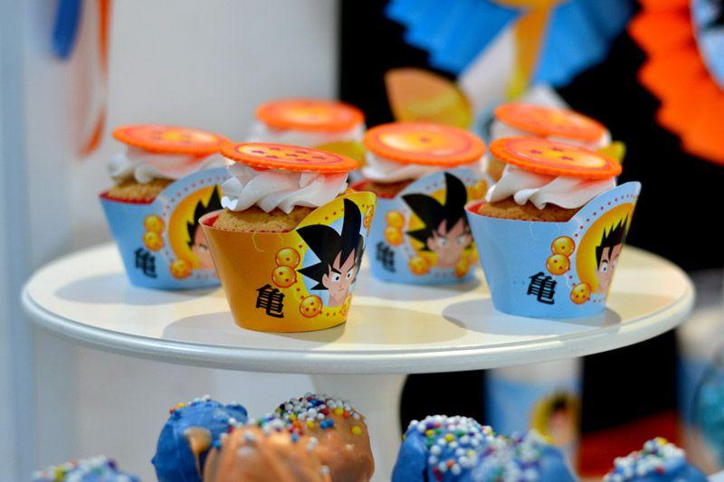 Cupcackes de Dragon Ball