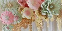 Flores de papelgigantes ¡Las más hermosas!
