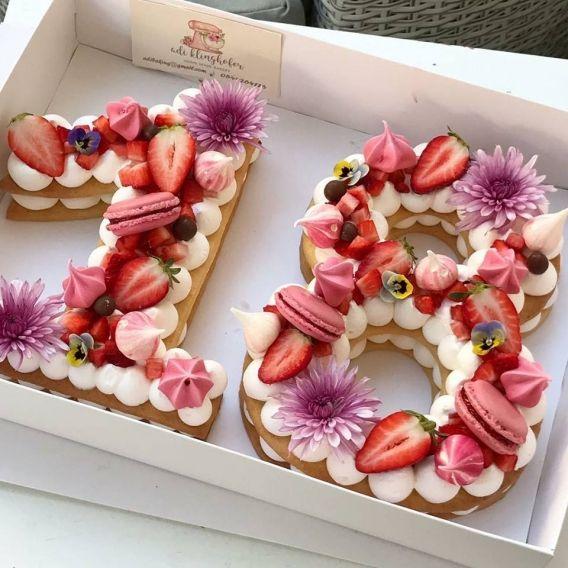 Ingeniosas tortas de n meros todo bonito - Moldes reposteria originales ...