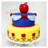 Las mejores tortas con la temática de Blanca Nieves