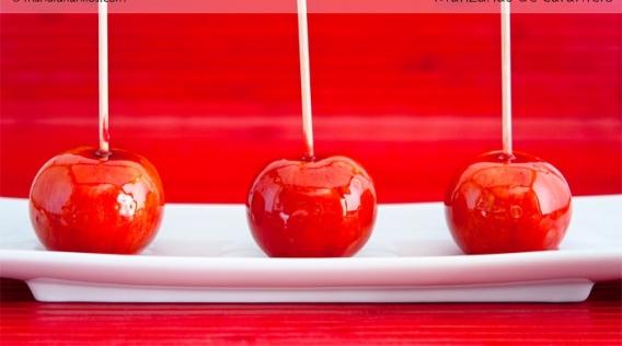 Cómo hacer manzanas dulces