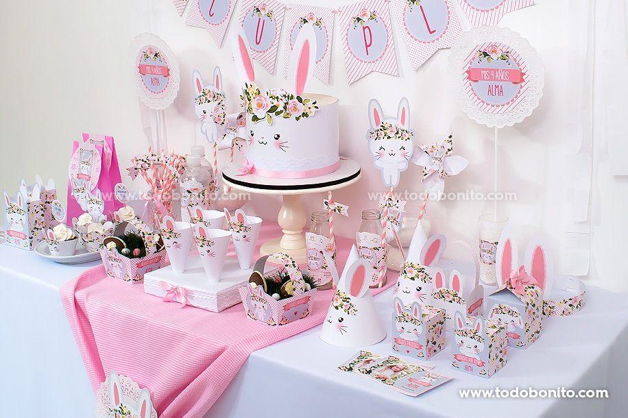 Decoraciones de conejos