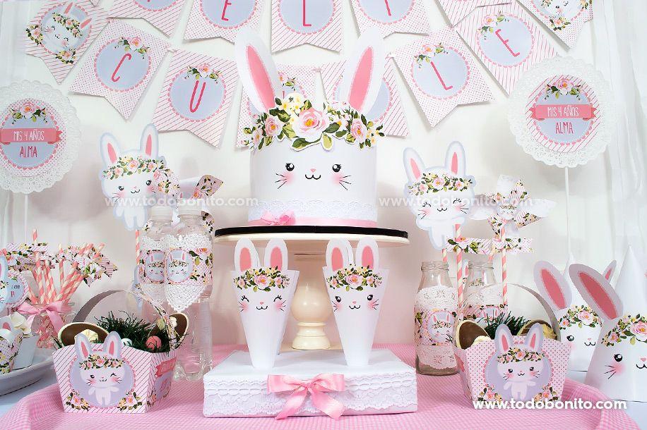 Mesa dulce coneja