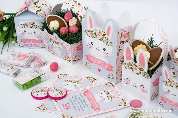 Diseños para imprimir de conejitas