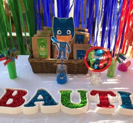 Bauti y su cumple junto a los PJ Masks