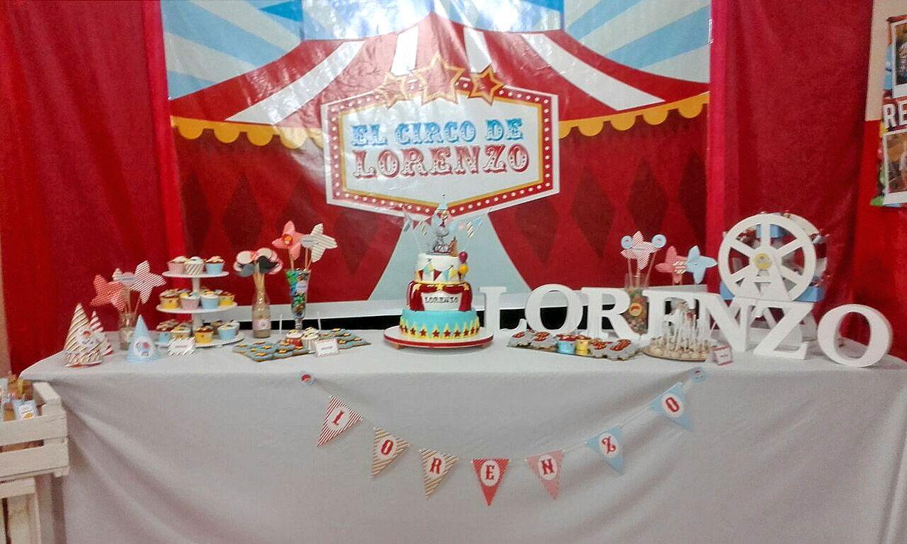 Mesa dulce de circo