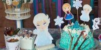 Clarita y su cumple Frozen