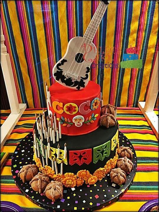 tortas con la temática de coco