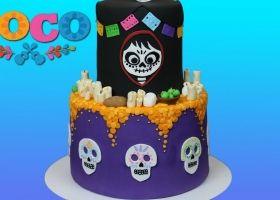 Creativas tortas de la película Coco