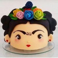 Las más preciosas tortas con la temática de Frida Kahlo