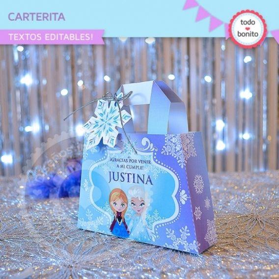 Carterita Frozen Imprimible
