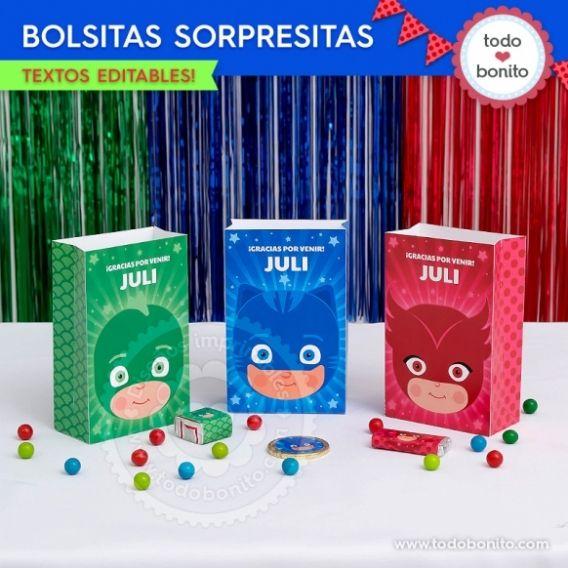 Bolsas sorpresita PJ Masks Todo Bonito