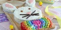 Deliciosa torta con forma de Conejo