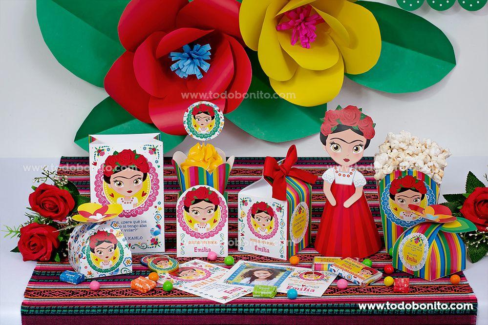 Kits imprimibles de Frida Kahlo por Todo Bonito
