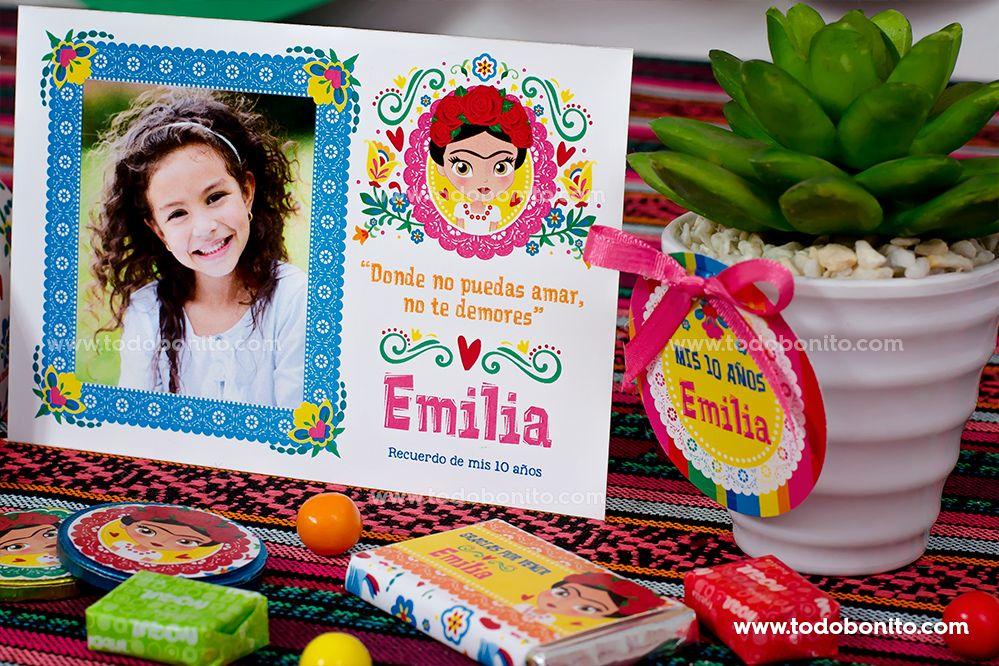 Decoraciones de Frida Kahlo para imprimir por Todo Bonito
