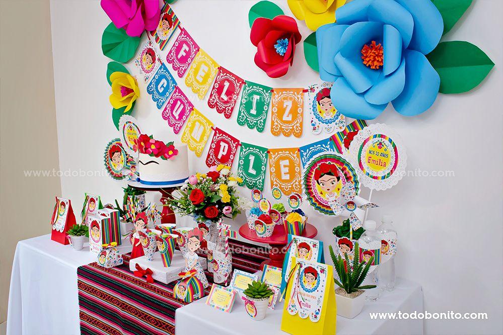Mesa dulce Frida Kahlo por Todo Bonito