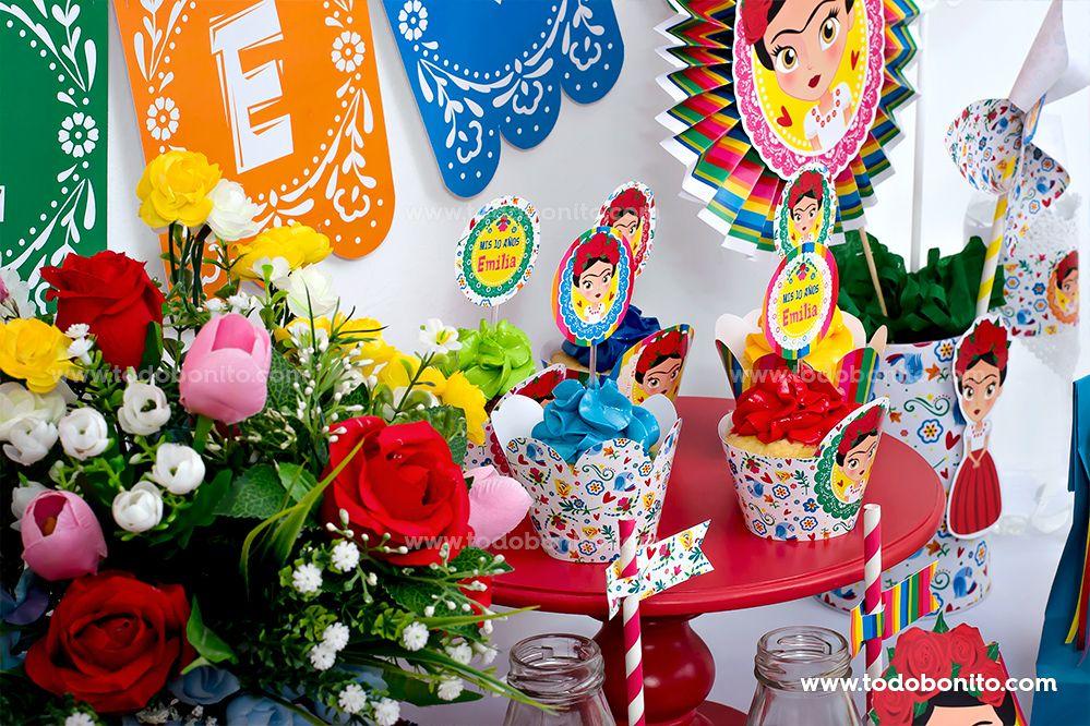 Imprimibles de Frida, por Todo Bonito
