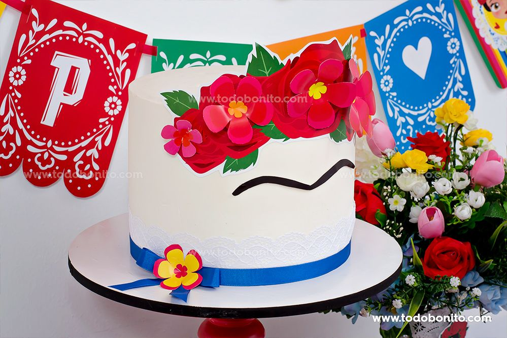 Torta de Frida, por Todo Bonito