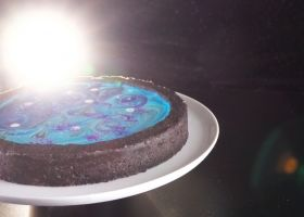 Cheesecake de otra galaxia