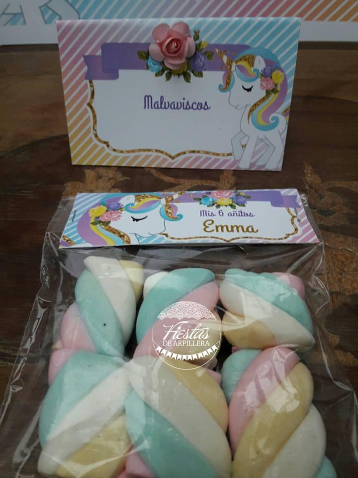 Malvavisco para Emma Kit Unicornios Todo Bonito