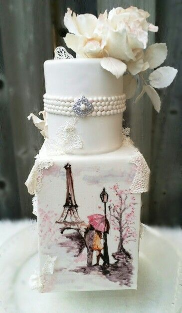 Tortas de temática París