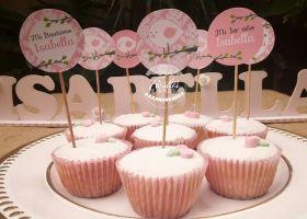 Fiestas de Arpillera y pajaritos para Isabella