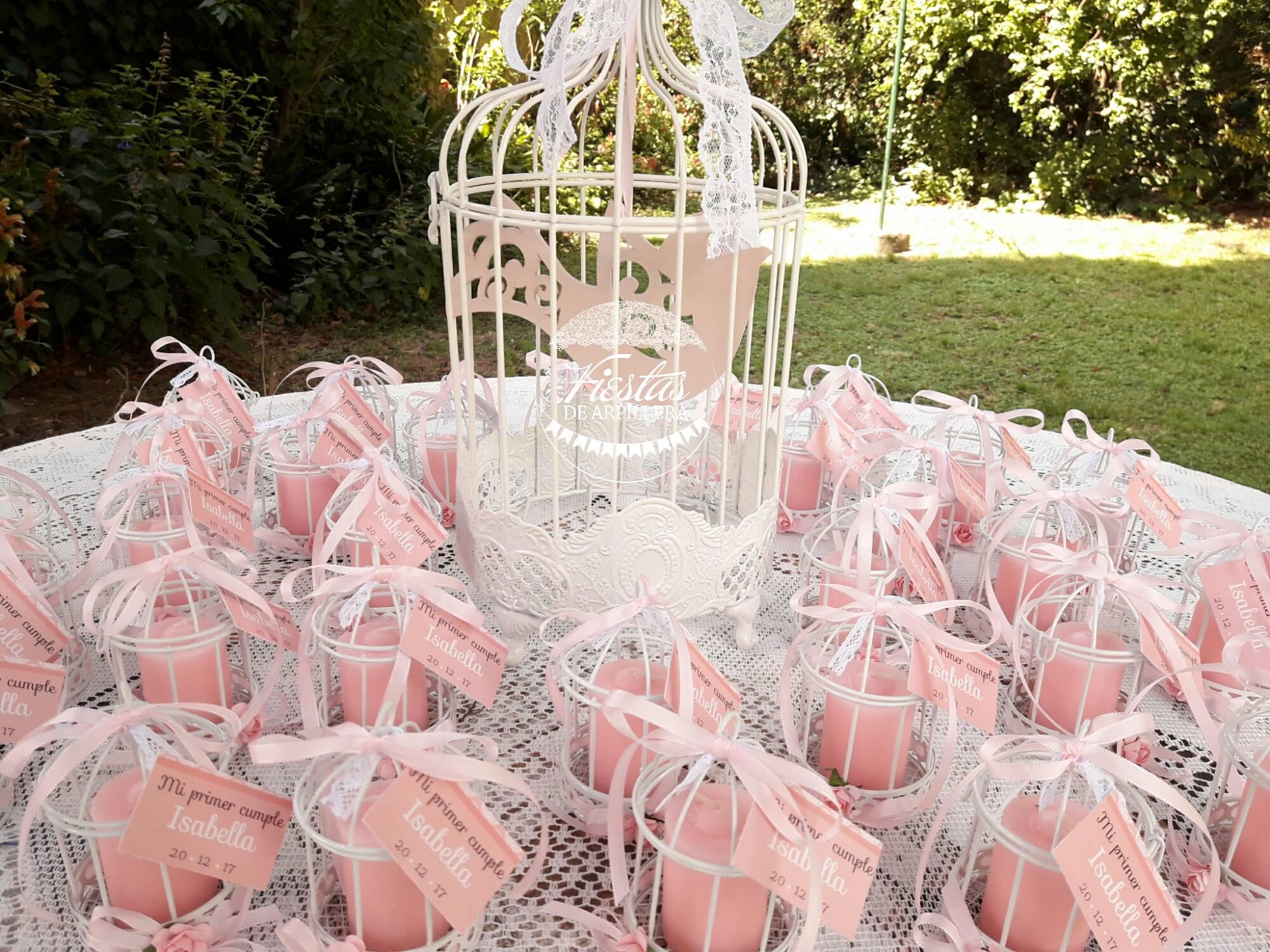 Souvenir de jaulitas con vela