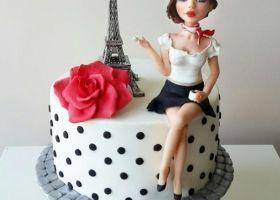 Las más preciosas tortas con la temática Paris
