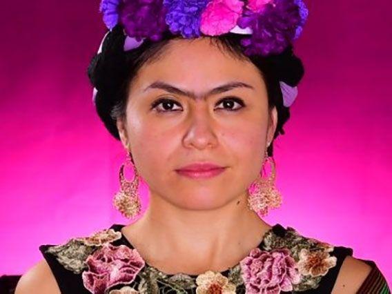 Diadema de Frida Kahlo paso a paso
