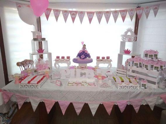 Fiesta Shabby Rosa para Pilar