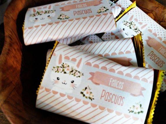 Las Pascuas de Paula con los kits imprimibles de conejitos