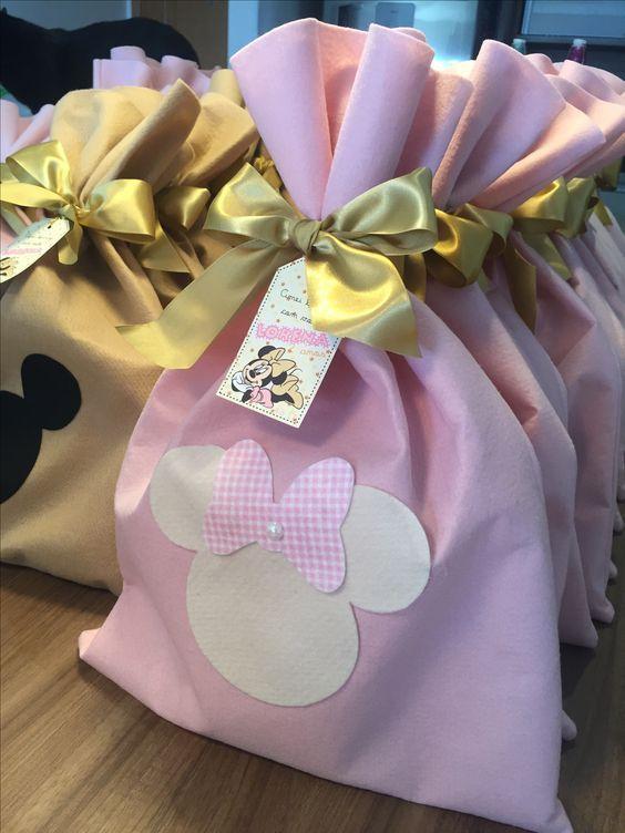 Ideas de decoración Minnie rosa y dorado