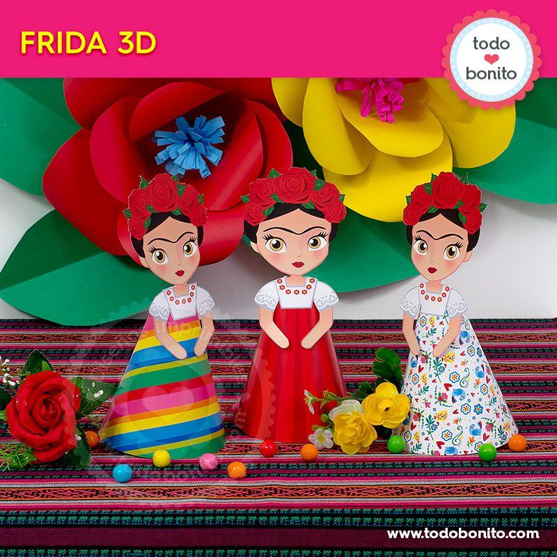 Frida Kahlo 3D por Todo Bonito