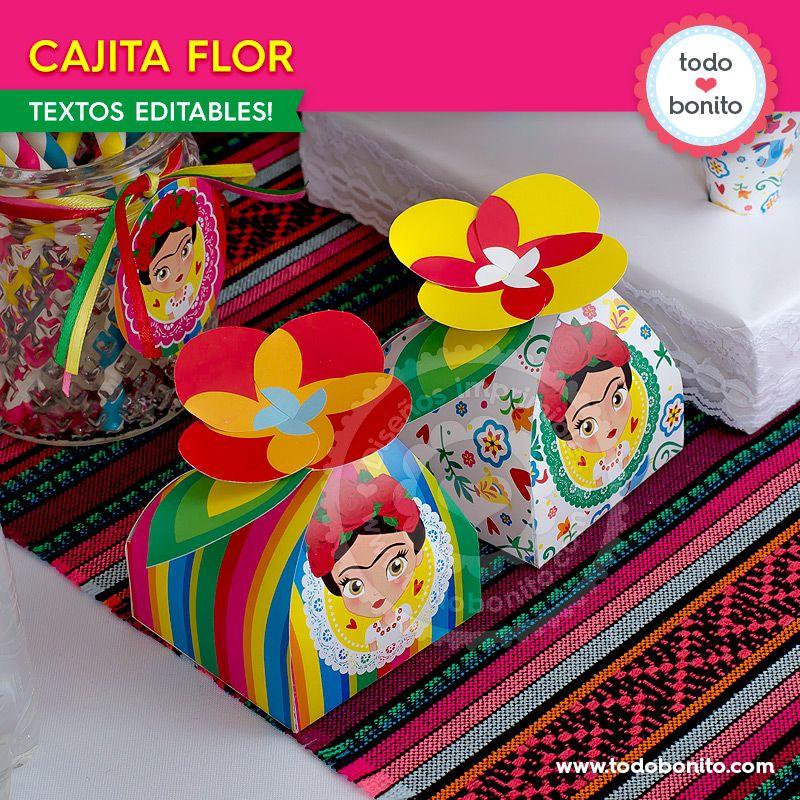 Cajitas de Frida Kahlo por Todo Bonito