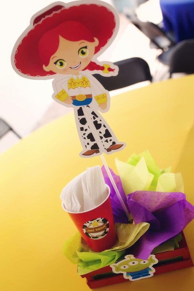 Centro de mesa Jessi Kit Imprimible Toy Story Todo Bonito