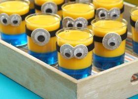 Ingeniosos Minions de gelatina