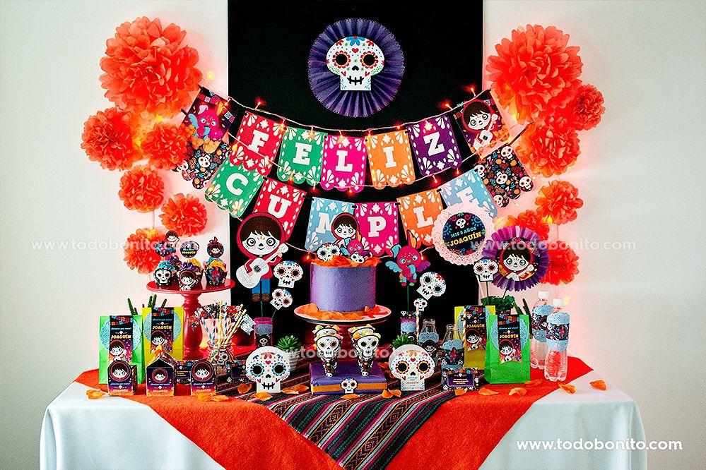 Kits Imprimibles de Coco por Todo Bonito
