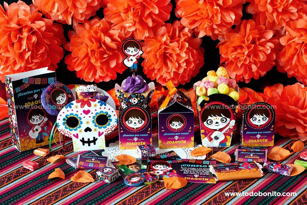 Decoraciones Imprimibles de Coco por Todo Bonito