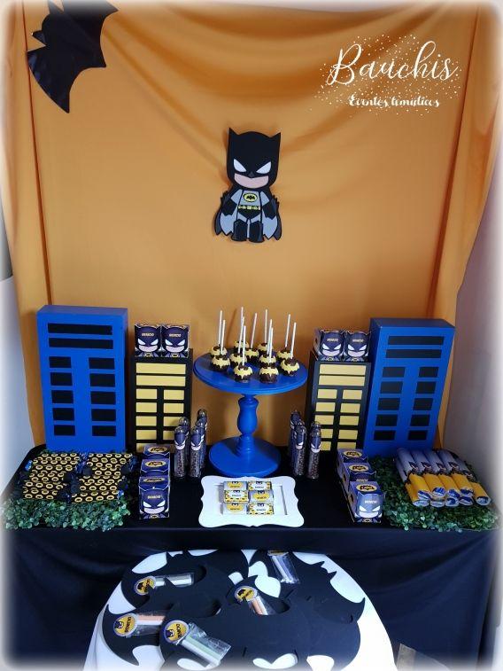 Mesa dulce temática Batman Todo Bonito