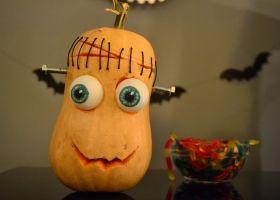 Calabaza Frankenstein para Halloween
