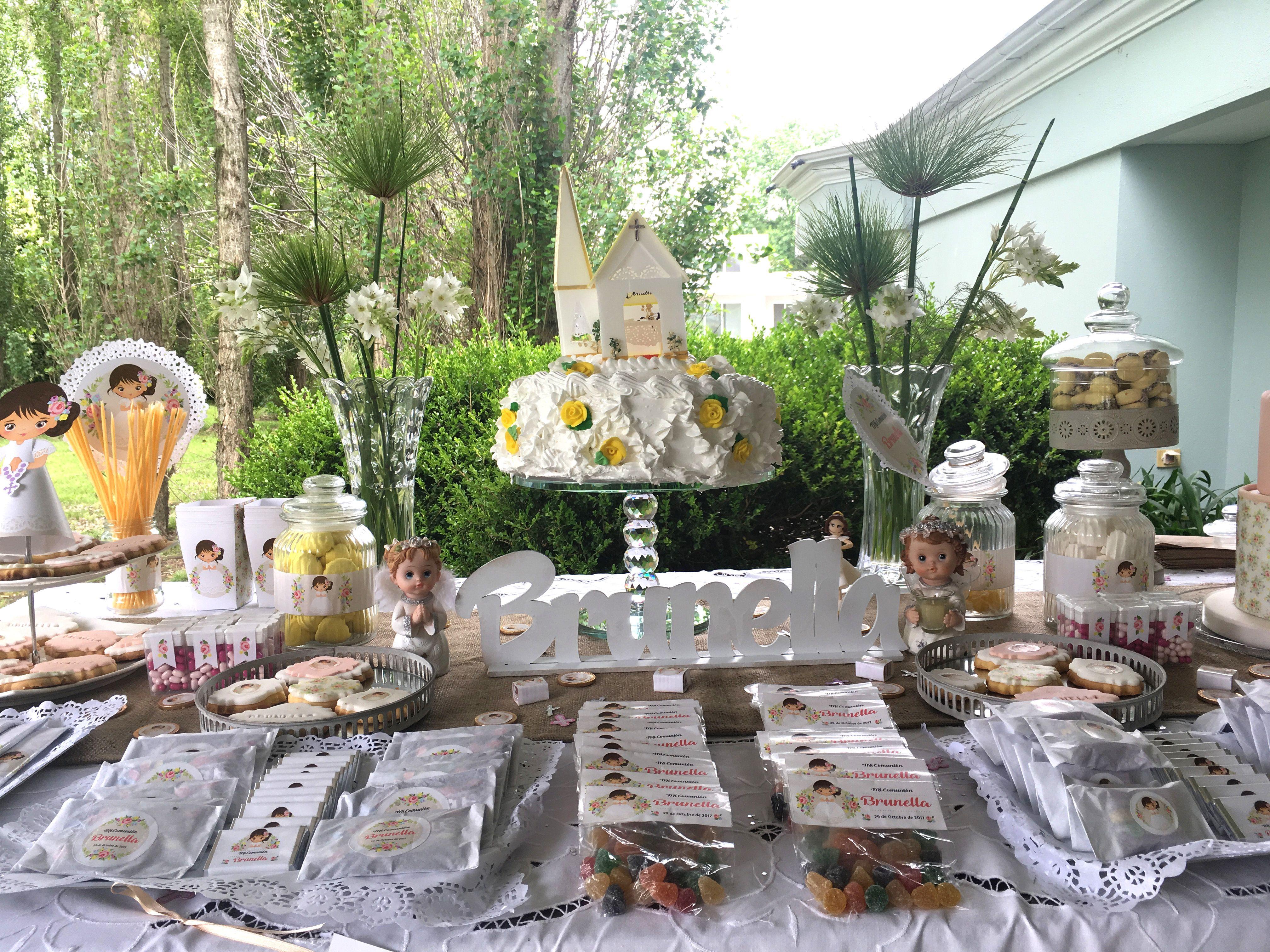 Torta y decoraciones con Kit Juana Todo Bonito