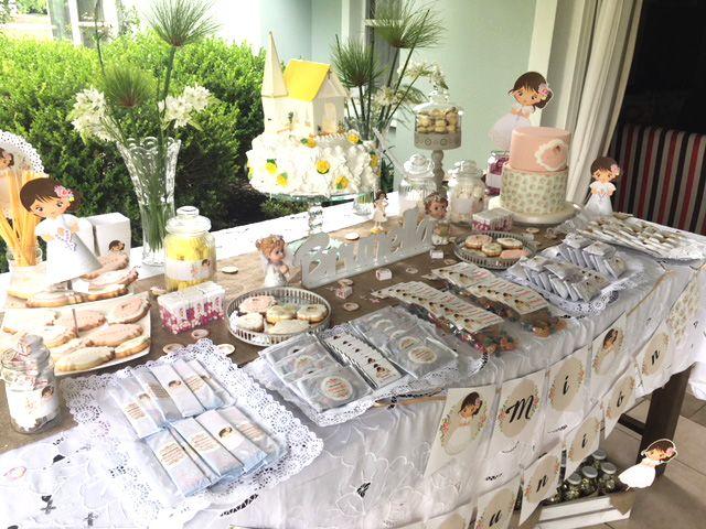 Mesa dulce con decoraciones Kit Juana Todo Bonito