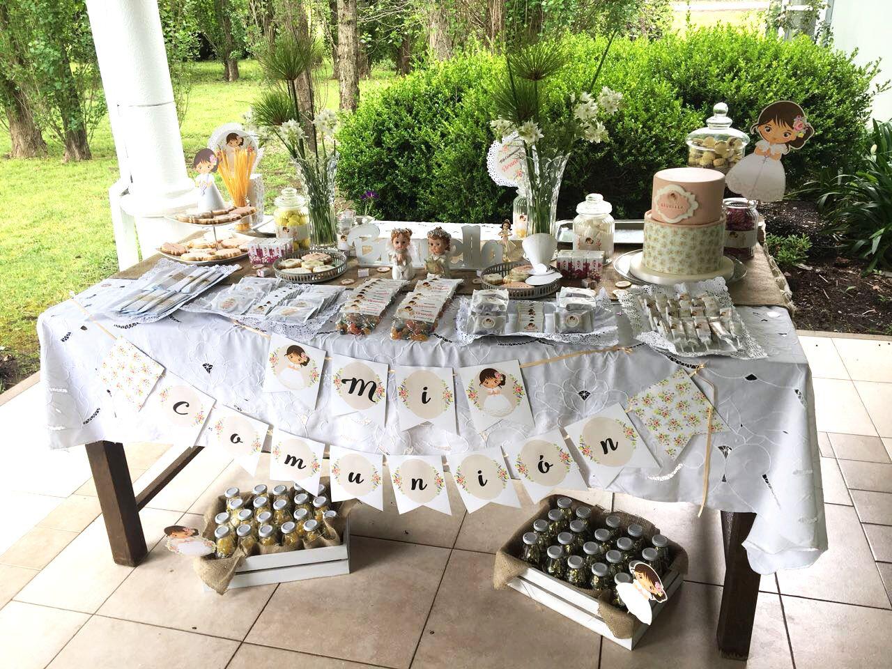 Mesa Dulce decorada con Kit Juana Todo Bonito