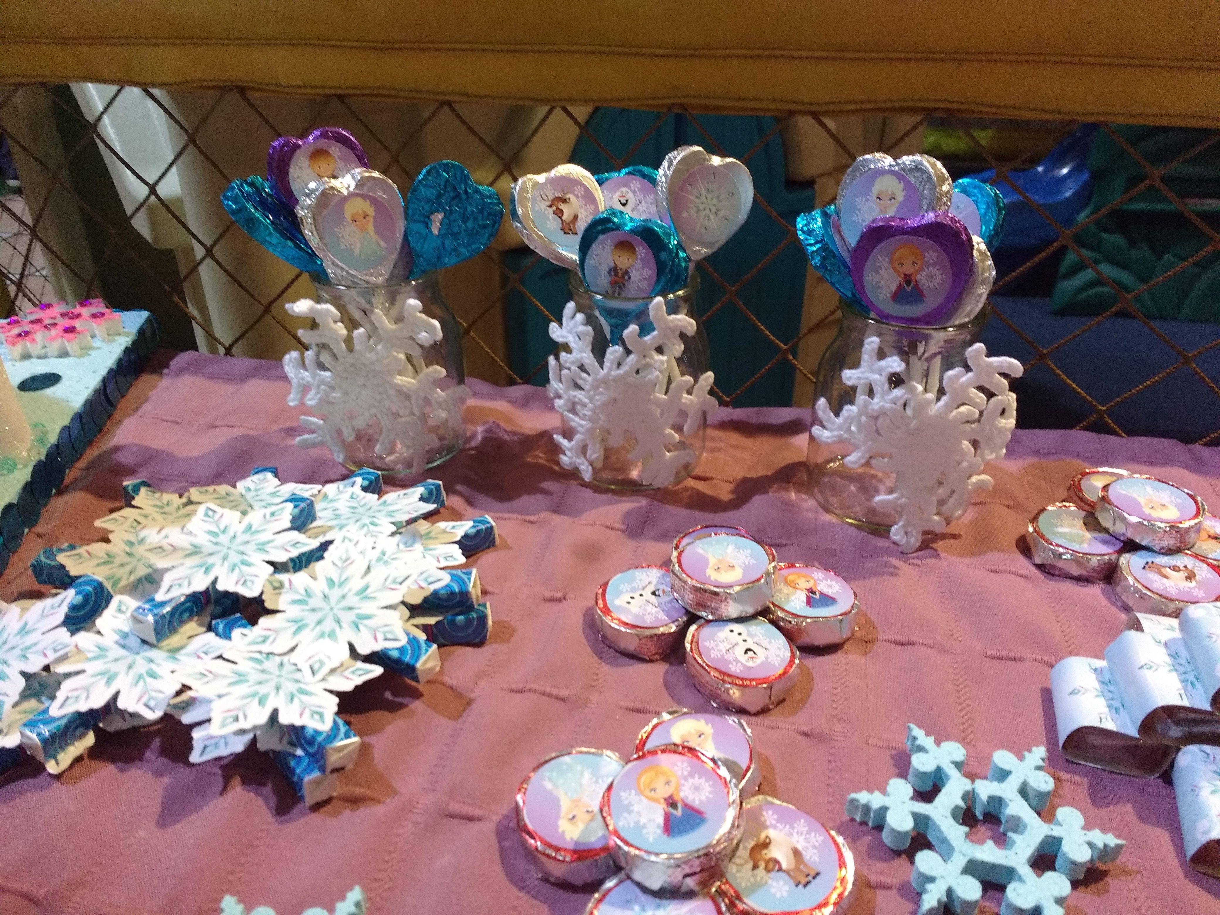 Mesa dulce Kit imprimible Frozen Todo Bonito
