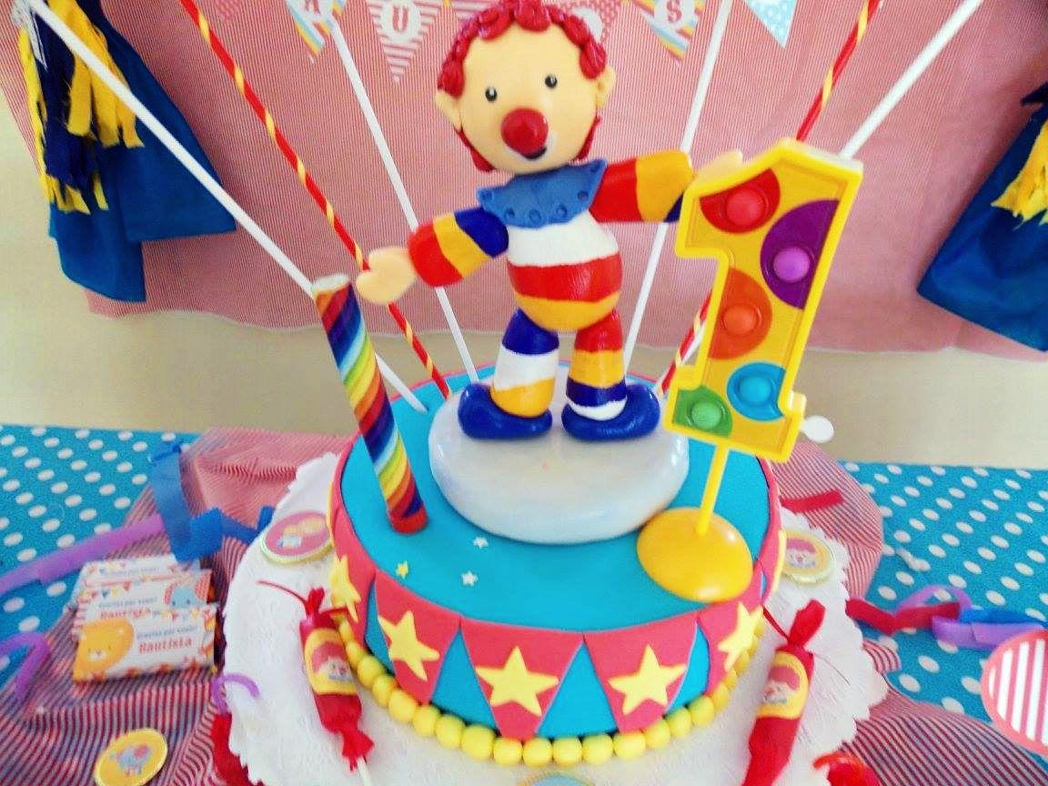Torta de Circo primer añito